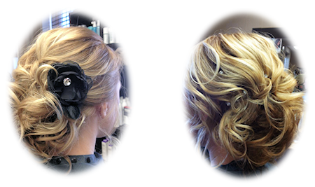 Updo 1 at Teri's Hair Loft
